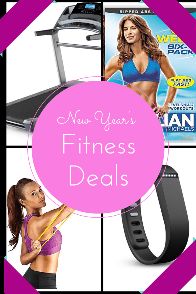 New Year's Fitness Deals- It's me, debcb!