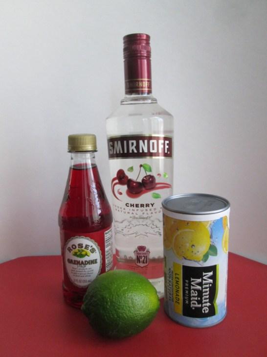 Sweetheart Martini Ingredients