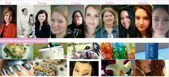 Best of the Blogosphere Hosts - It's me, debcb!