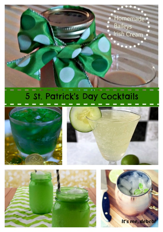 5 St. Patrick's Day Cocktails