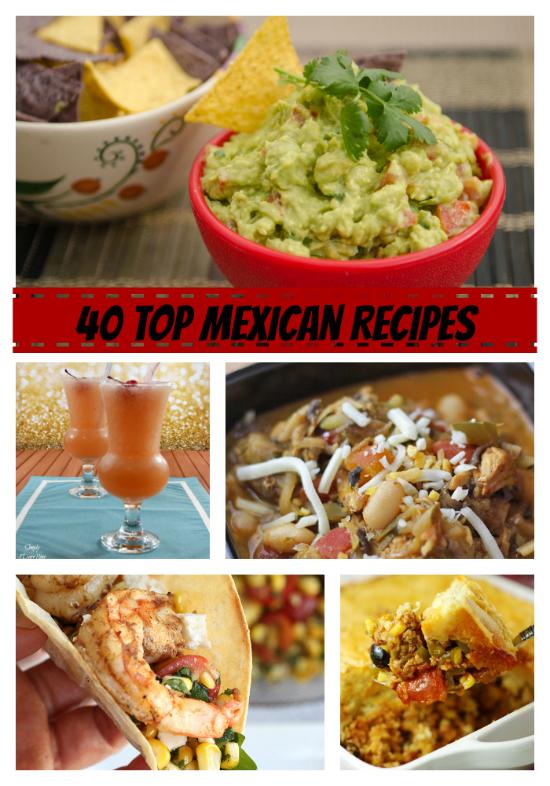 40 Top Mexican Recipes