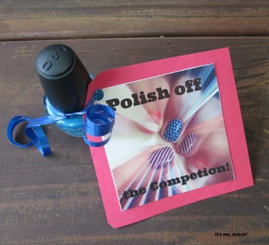 Polish off the competition motivator- It's me, debcb!