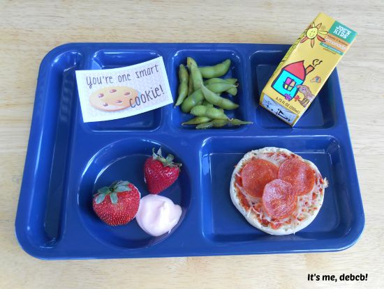 Big Kid School Lunch Pizza- It's me, debcb!