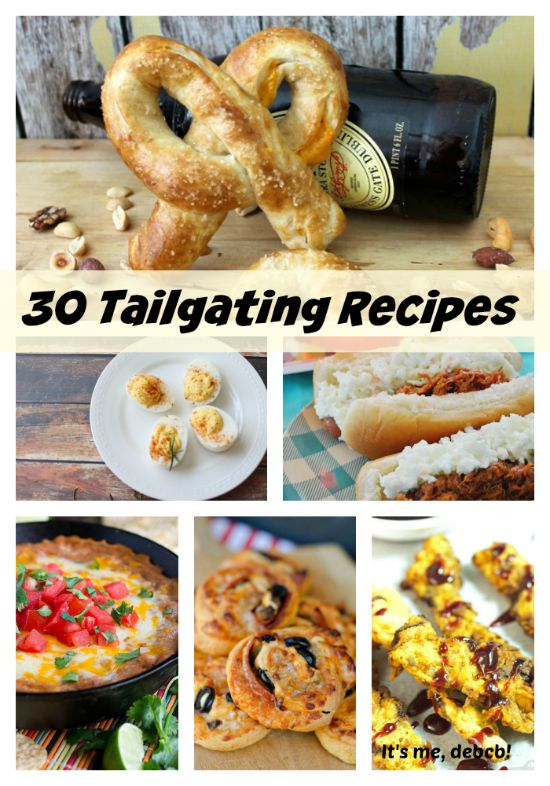30 Tailgating Recipes-It's me, debcb!