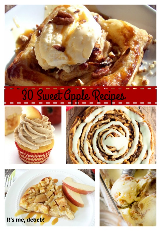 30 Sweet Apple Recipes