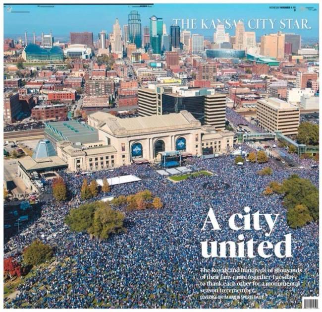 Kansas City Star Royals Parade