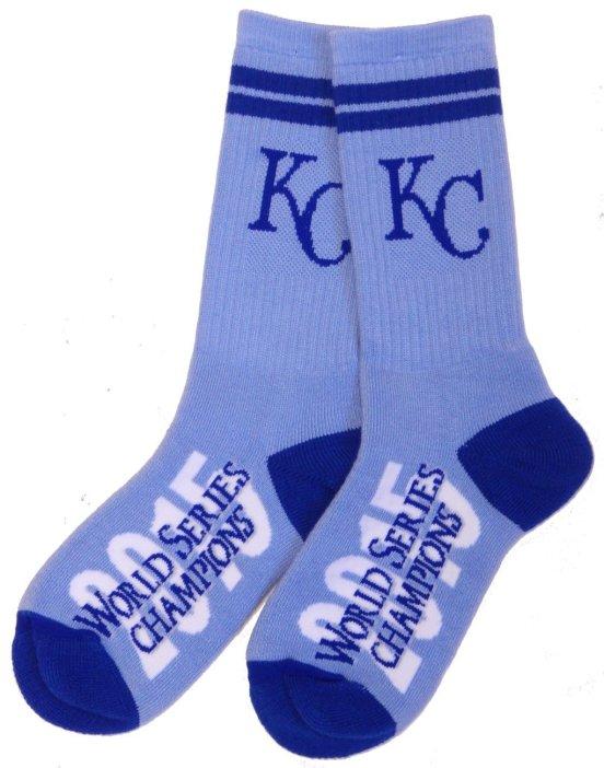 Kansas City Royals World Series Socks