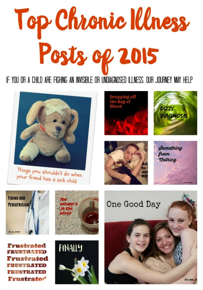 Top 10 Chronic Illness Posts of 2015