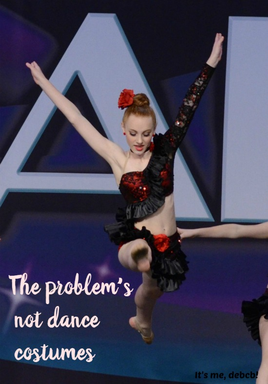 The problem's not dance costumes