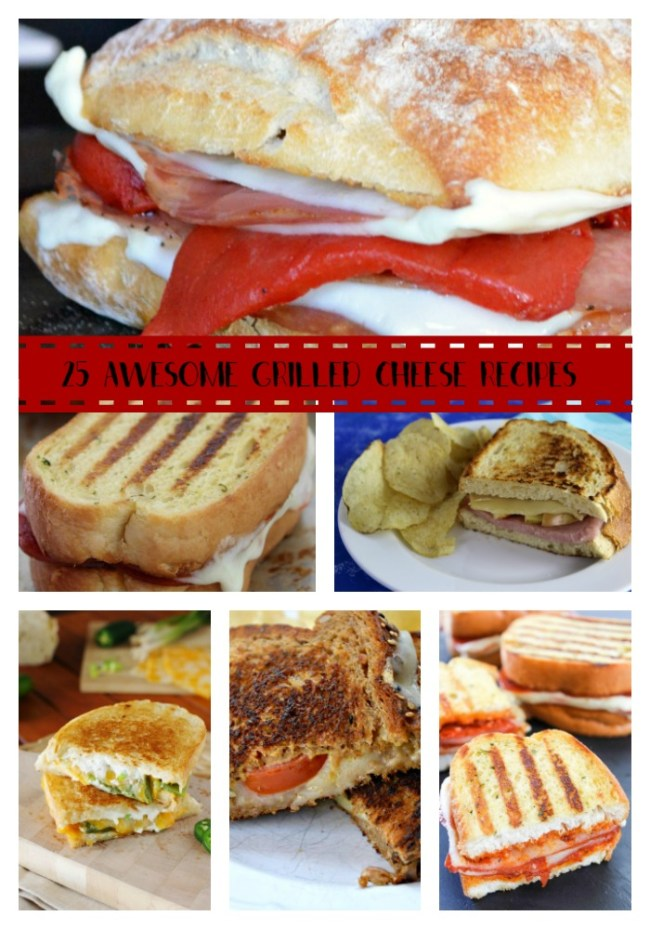 25 Awesome Grilled Cheese recipes