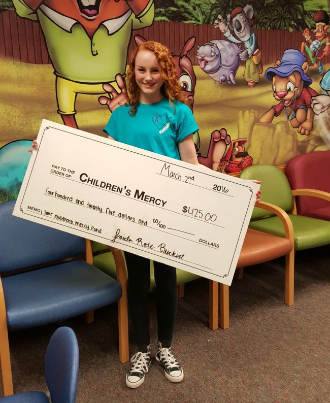 Children's Mercy donation