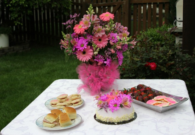 Table for Summertime Tea Party