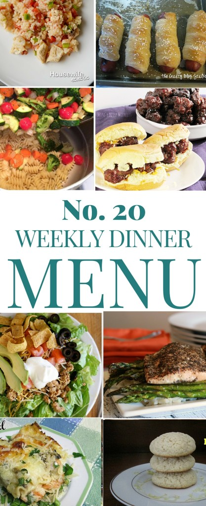 What's for Dinner (Week 20)