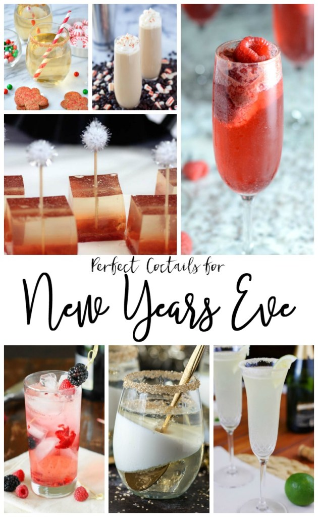 Perfect New Year's Eve Cocktails