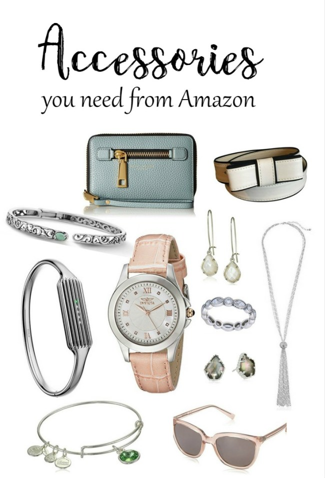Accessories you need from Amazon