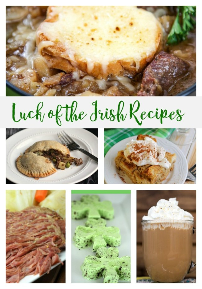Luck of the Irish Recipes