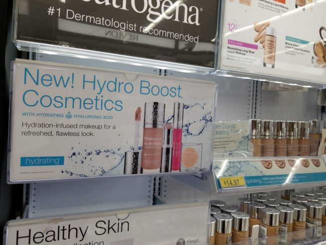 Neutrogena at Wal Mart