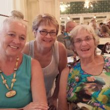 Dixie Winn of Lafayette, Laurie Taffee of New Orleans, and Nancy Ochsenslager, or is this Marilyn Rosenberg?.