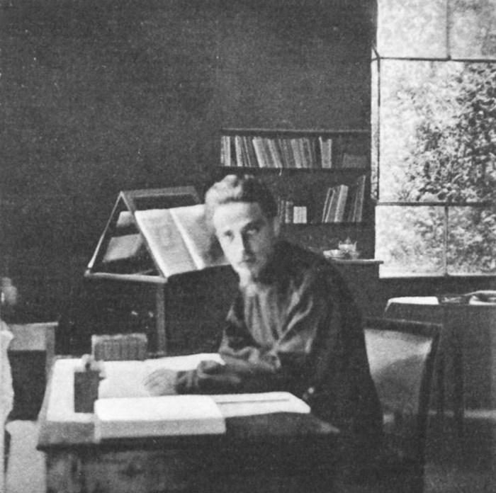 Rilke_im_Studio_al_Ponte_im_Garten_der_Villa_Strohl-Fern_in_Rom_1904