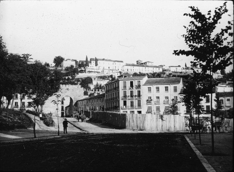 zicht op Albaicin, 1910
