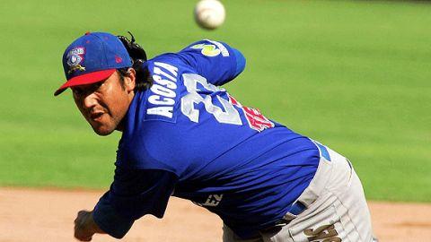 Jasiel Acosta dominó a los campeones Saraperos.