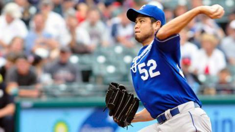 Bruce Chen pitcher de Reales de Kansas City