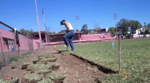 Mantenimiento del Parque Deportivo Colón de Xalapa, Veracruz