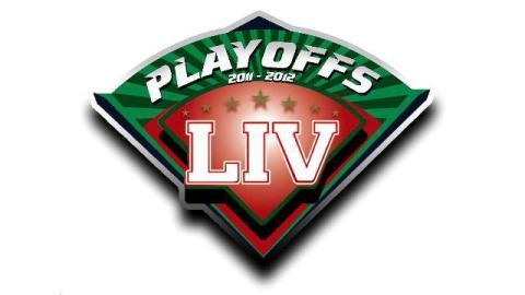 Logotipo de los playoffs 2011-2012 de la Liga Invernal Veracruzana