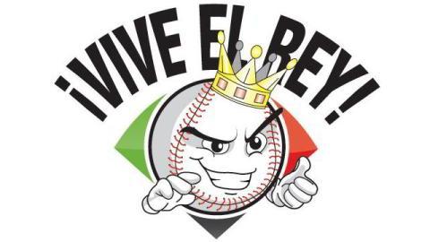 Logotipo Vive el Rey de la Liga Mexicana de Beisbol