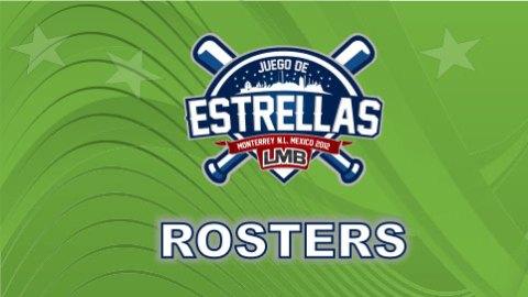 Logotipo Rósters para el Juego de Estrellas 2012 de la Liga Mexicana de Beisbol