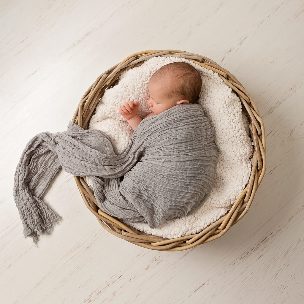 sweet newborn baby boy
