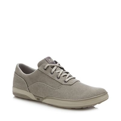 Light Grey Slip On Sneakers
