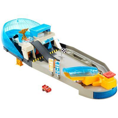 disney cars flip out sofa australia pop up sleeper debenhams pixar mini racers rollin raceway playset