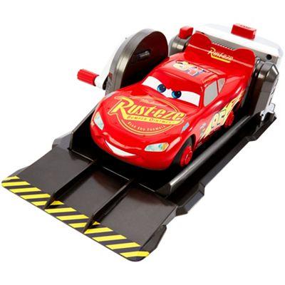 disney cars flip out sofa australia room board bed debenhams pixar stunt and skills lightning mcqueen car