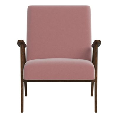 bedroom chair pink velvet mission recliner chairs furniture debenhams