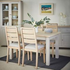 Painted Tables And Chairs Good Posture Lounge Chair Wood Dining Furniture Debenhams Corndell Cream Oak Marlow Table 4 White Washed