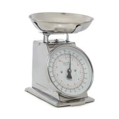 Kitchen Scales Compact Table Home Collection Debenhams Silver Mechanical Scale