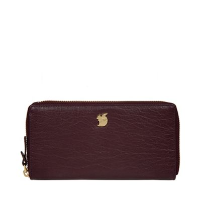 plum aisling leather rfid