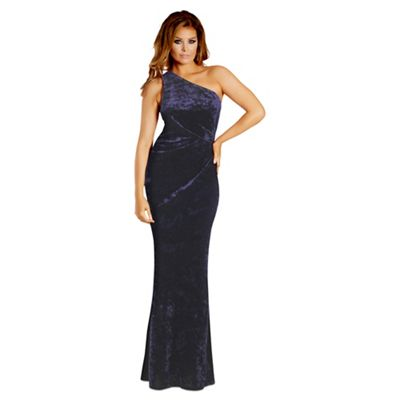 Navy Blue Plus Size Special Occasion Dresses