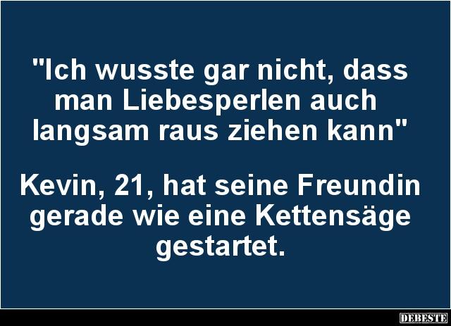 Kevin Witze und Sprche  DEBESTEde