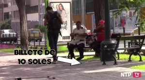 EXPERIMENTO SOCIAL: ¿QUÉ TAN HONESTOS SON LOS PERUANOS?