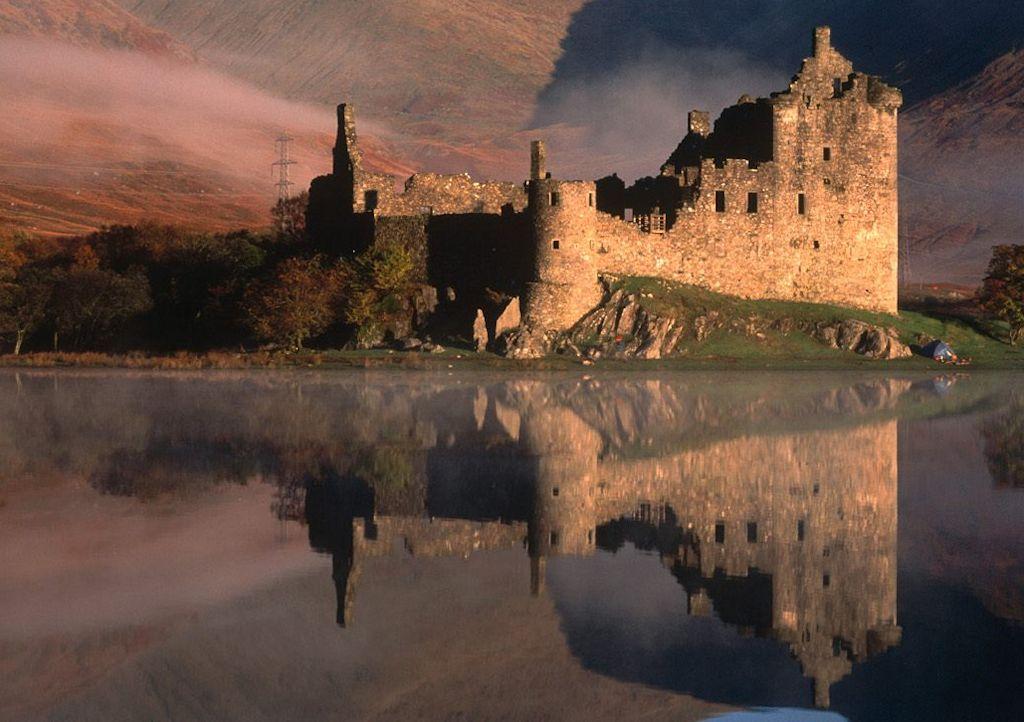 Kilchurn Castle 1024 cLoch Awe