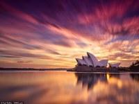 Espectaculares fotografías de paisaje: desde Sydney a Arizona, captando la puesta de sol o el amanecer de lugares emblemáticos