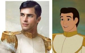 Un ilustrador recrea cómo serían los príncipes Disney en carne y hueso