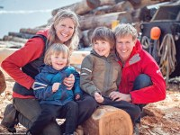Descubre el viaje de esta familia, con dos hijos de tres y siete años que han dado la vuelta al mundo sin subirse a un avión