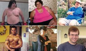 Familia con sobrepeso sufre una transformación increíble en dos años