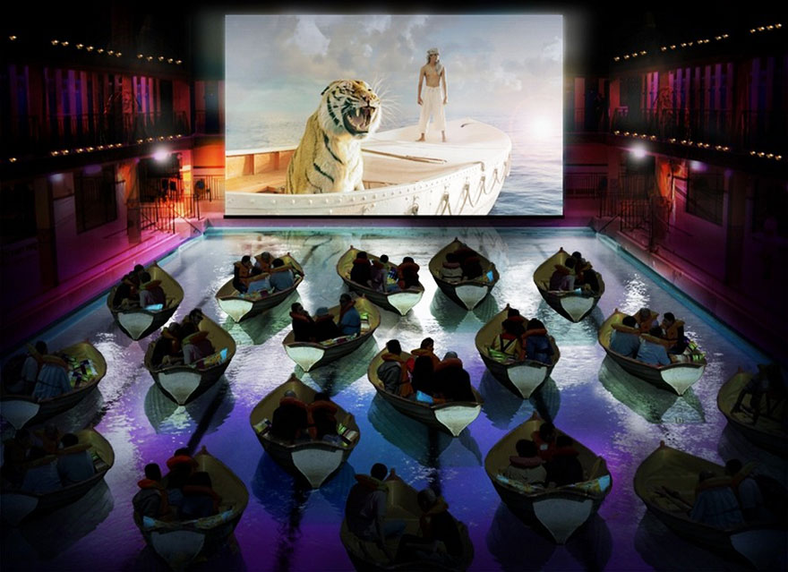 movie theater en paris
