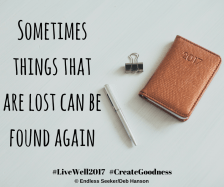 Day 144 lost and found