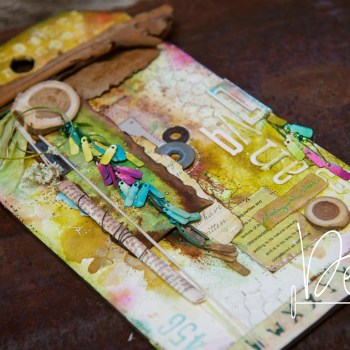 Scrambled, Eclectic and Mixed Media Madness-So What's the Story?