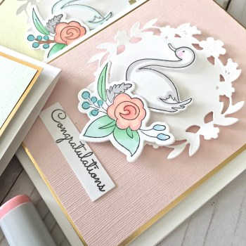 Stamps, Dies, Shades of Pastels AND Announcing My Winner!